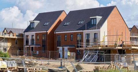 bouw van nieuwe woning